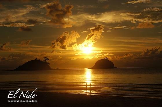Sunset by Las Cabanas Beach!