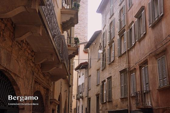Street of Bergamo!