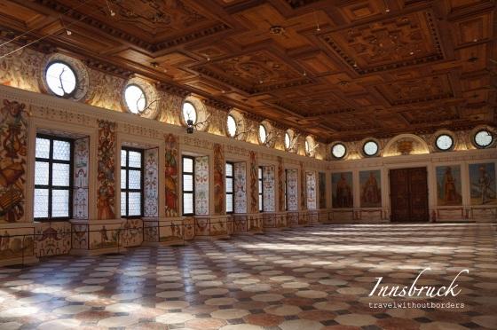 Schloss Ambras (Spanish Hall)!