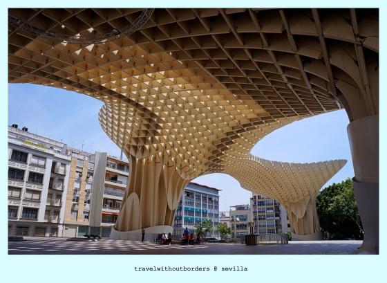 Postcard 0024: Metropol Parasol! – Sevilla,Spain!