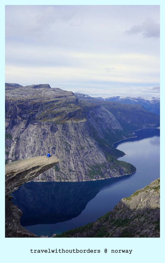 Postcard 0028: By The Tongue! – Trolltunga, Norway!
