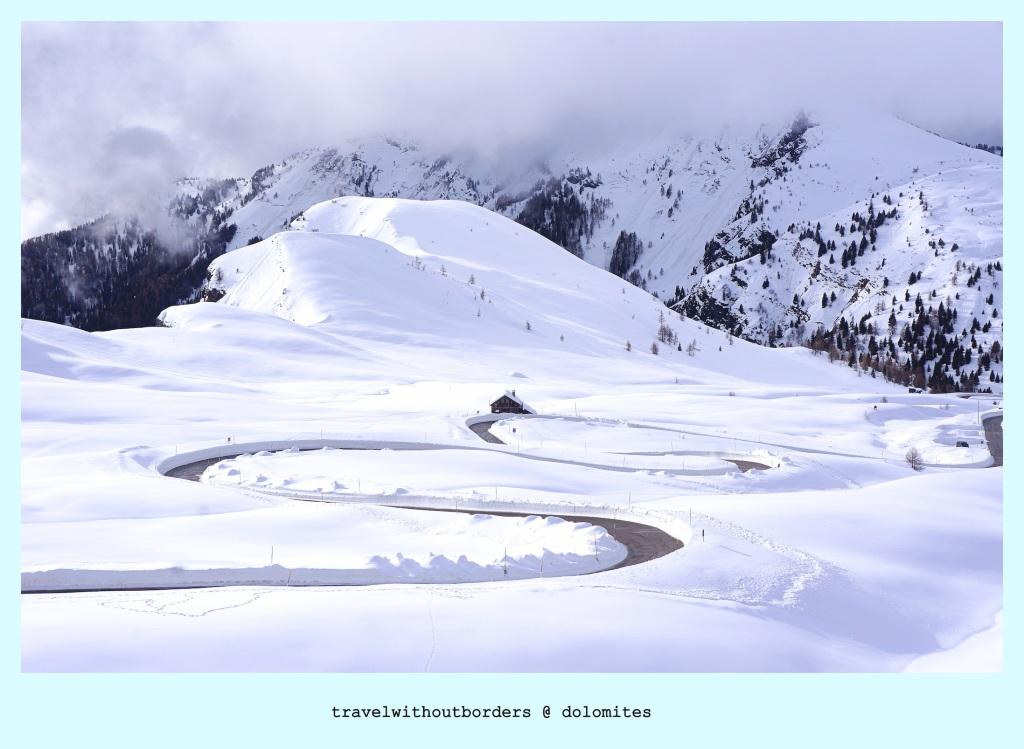 Postcard 0039: Zig Zag! – Dolomites,Italy!